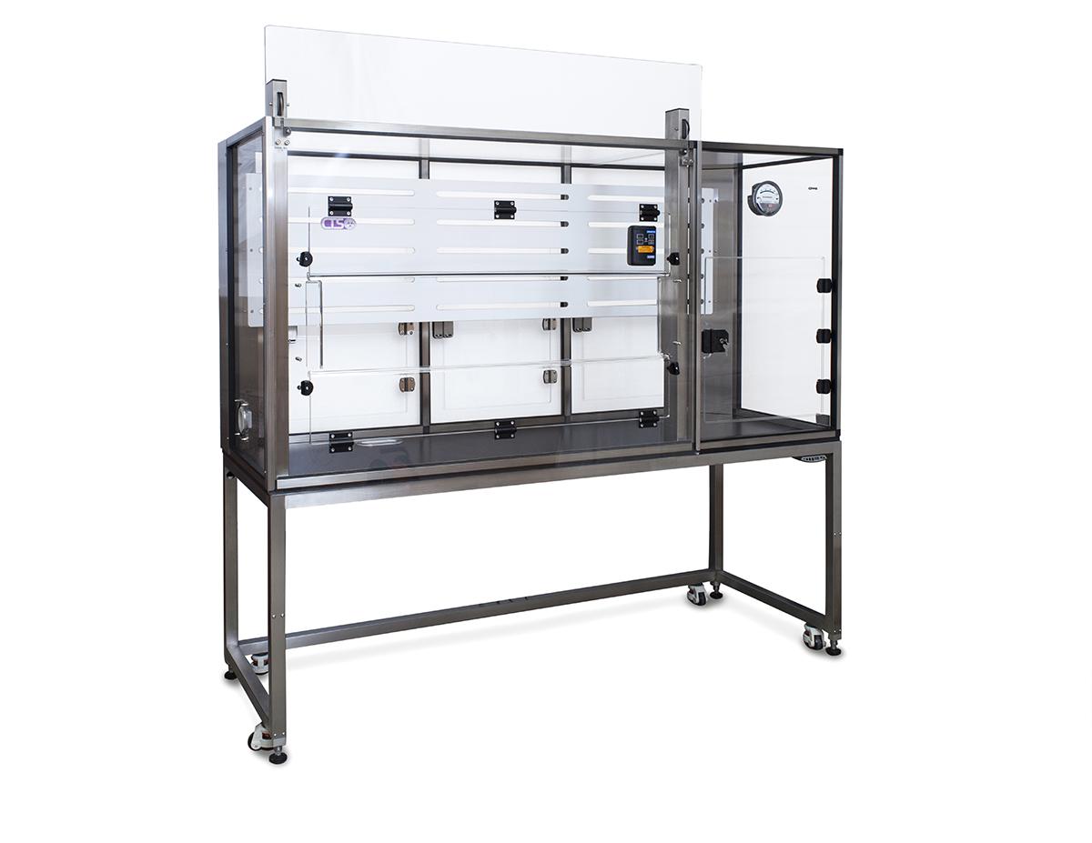 Particle Sizer Laboratory Enclosure
