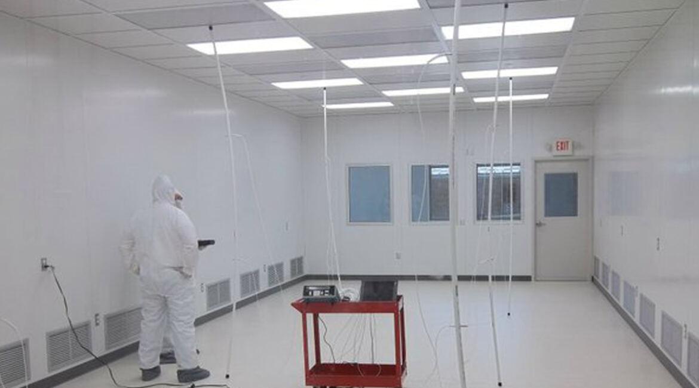 Clean Room air handling using HEPA FIlters