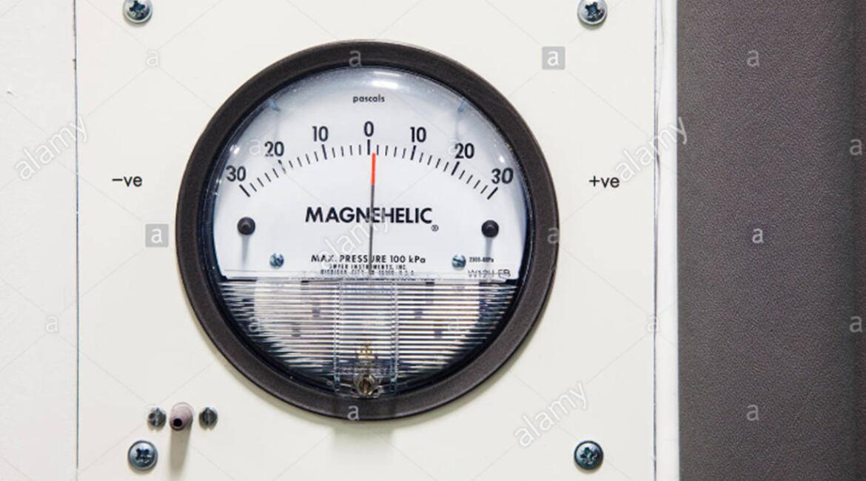 Design criteria for laboratory - magnehelic pressure gauge