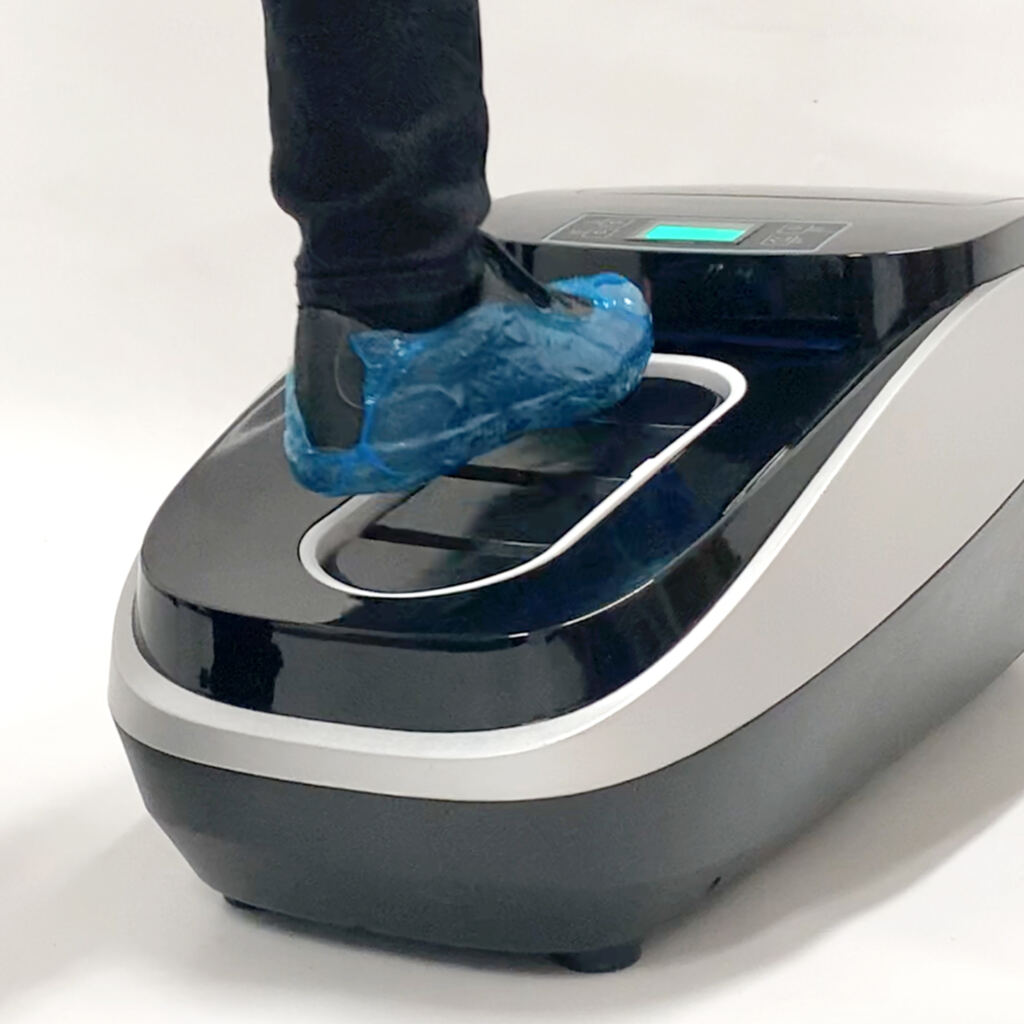 Clean Step - Shoe Cover Machine with biofilm - covering shoes - CTS Europe